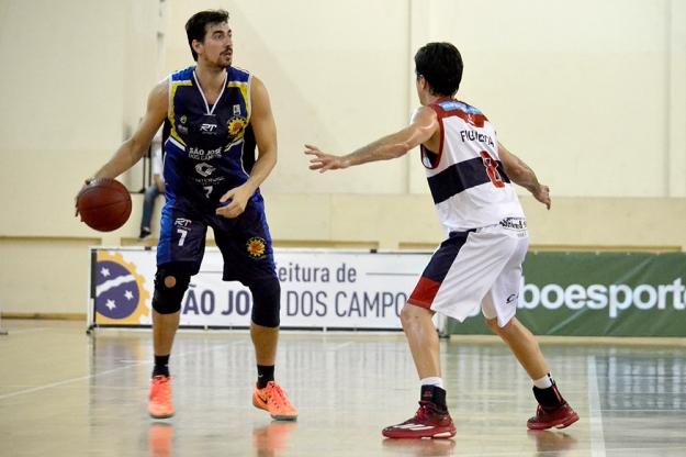 Betinho em ação pelo São José (Foto: Liga Nacional de Basquete/Arquivo)