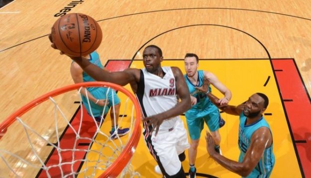 Luol Deng Miami Heat playoffs NBA