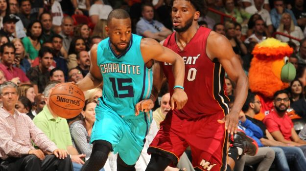 Kemba Walker x Justise Winslow Charlotte Hornets x Miami Heat playoff 2016