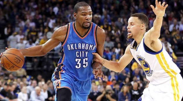 kevin durant x stephen curry oklahoma city thunder golden state warriors