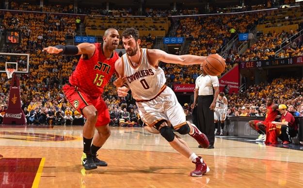 Kevin Love Cleveland Cavaliers playoffs 2016