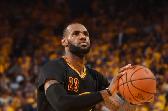 LeBron James cleveland cavaliers campeao
