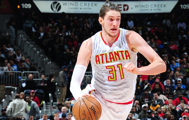 Mike Muscala Atlanta Hawks